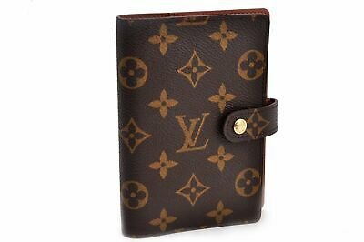 Authentic Louis Vuitton Monogram Agenda PM Day Planner Cover R20005 LV 92571