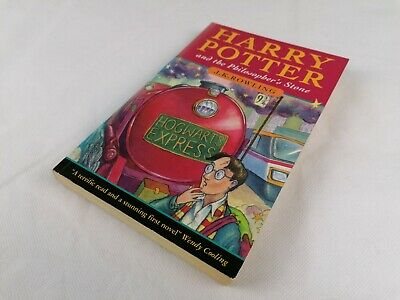 Harry Potter and the Philosopher's Stone 1st Edition 5th Print Wendy Cooling
