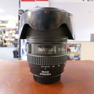 Used Canon EF 24-105mm f4 L IS USM lens - 1 YEAR GTEE