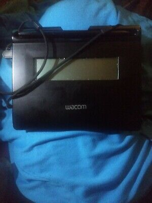 STU-300/ Wacom STU-300 Signature Capture Pad W/PEN ORIGINAL LCD Signature Tablet