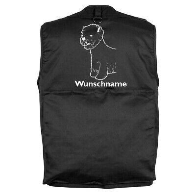MIL-TEC Hundesport Outdoor Weste West Highland Terrier inkl. Wunschname