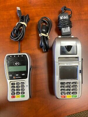 First Data FD130 Duo Terminal and FD-35 PIN Pad with Power Cord
