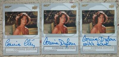 James Bond Collection SSP Base Card #183 Corinne Clery as Corinne Dufour