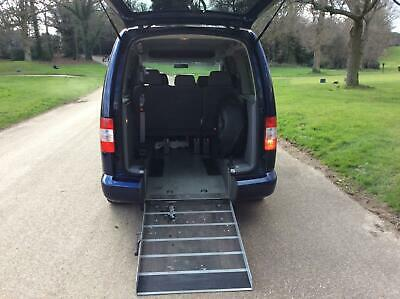 2009 Volkswagen Caddy Maxi Life 1.9 TDI PD 5dr DSG fully wheelchair accessible