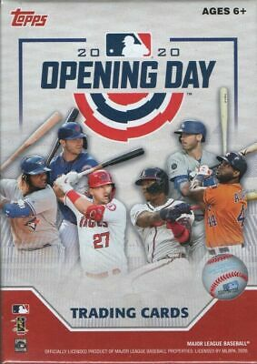 2020 Topps OPENING DAY Baseball Blaster Box of Packs Possible AUTOGRAPHS JERSEYS