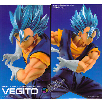 Dragon Ball Super Vegito Blue  Final Kamehameha Ver.1 PVC Figure by Banpresto