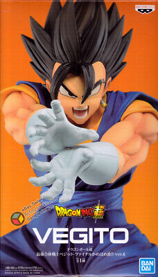 Dragon Ball Super - Vegito (Black) Final Kamehameha Ver.6 Figure by Banpresto