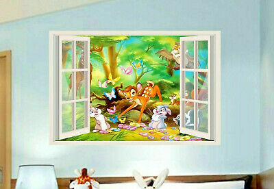 FLOWER THE SKUNK Bambi Disney Decal Removable WALL STICKER Home Decor Art Movie