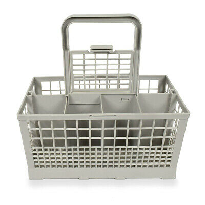Genuine Hotpoint Indesit Dishwasher Grey Cutlery Basket Tray Cage