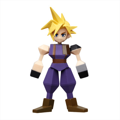 Square Enix FINAL FANTASY VII 7 REMAKE Memorial Kuji G Mini Figure Cloud JAPAN