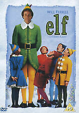 Elf DVD. Will Ferrell / James Caan. 2 Disc Edition