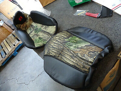 Brand New Arctic Cat Prowler Front Seat Cover, Black/Camo, Highback