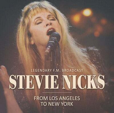 STEVIE NICKS 'FROM LOS ANGELES TO NEW YORK' CD (New & Sealed)