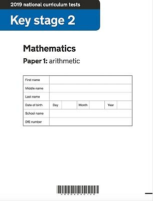 3 Maths SATS papers KS2 with Answers
