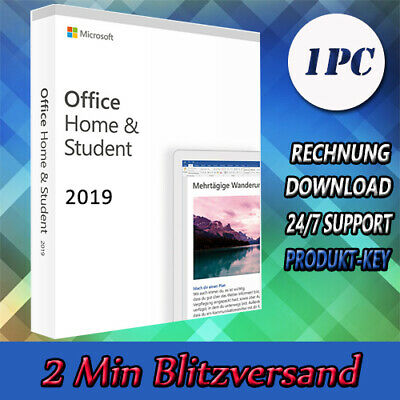 Office 2016-2019 - Home&Student - Home&Business (32&64 Bits) per Email