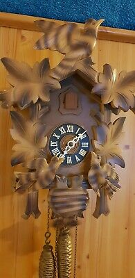 Black forest antique cuckoo clock