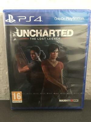 **SEALED** UNCHARTED THE LOST LEGACY ps4 game brand new for PlayStation 4