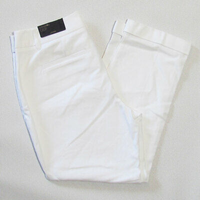 Chicos So Slimming Womens Small Crop White Dress Pants Size 0 / 4