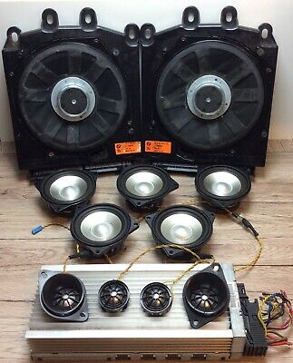 BMW 5 series  E60  LOGIC 7 Sound  System Speakers and Amplifier