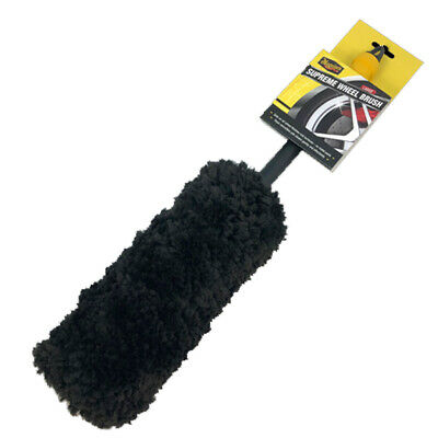 Meguiars Supreme Large Super Soft Microfibre Wheel Cleaning Brush