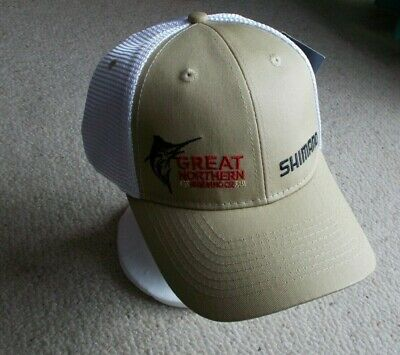 GREAT NORTHERN Brewing Co. AND SHIMANO , Cap / Hat * NEW with tag , FREE POSTAGE