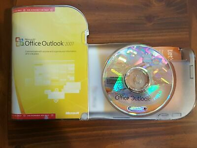 Genuine Microsoft Office Outlook Academic 2007 RETAIL Box