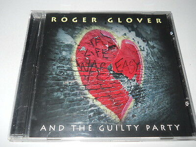 """Roger Glover And The Guilty Party """"If Life Was Easy"""" CD (Eagle Records 2011 USA)"""