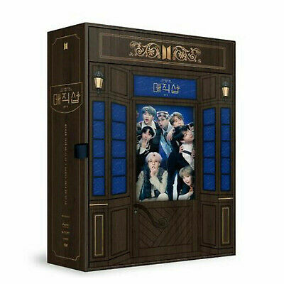 BTS 5th MUSTER [MAGIC SHOP] DVD +Photobook+Popup Box+Photocards +Tracking number