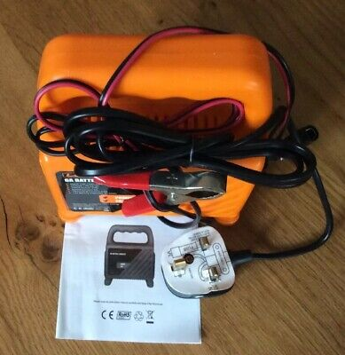12 V 6 Amp Dc Battery Charger Ideal Size Free Delivery Great Condition