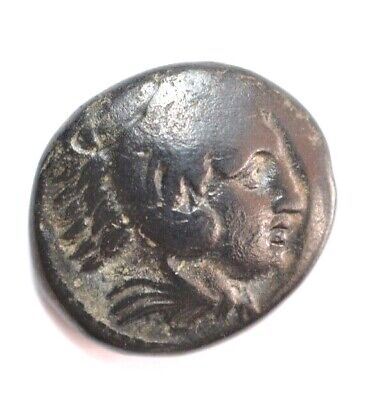 Macedonian King Alexander The Great - Ae Drachme # 828 #