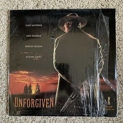 Unforgiving Widescreen Laserdisc - Clint Eastwood