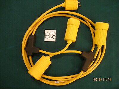 608. Hubbell Marine Multiple Outlet Wiring Device #69E8Sh