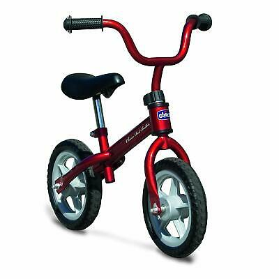 Chicco First Bike Bicicleta Infantil Sin Pedales Sillin Regulable 3-5 años rojo
