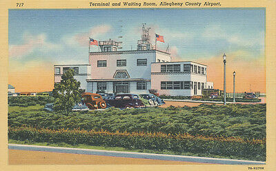 PA * Allegheny Co. Airport 1946 * Pittsburgh / McKeesport   Aviation Terminal