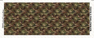 Hawaiian Shirt Pattern Waterslide Decals 1//18 scale for GI Joe Chuckles