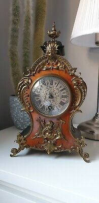 Antique Lenzkirch bracket clock