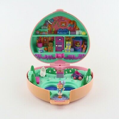 POLLY POCKET 1992 Partytime Party Time Birthday Stamper w/ 1 original doll