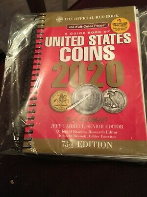 United States Coins 2020 book red