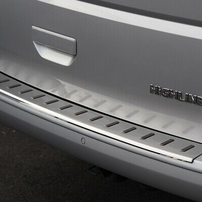 VW T6.1 Rear Bumper Protector Tailgate Stainless Steel