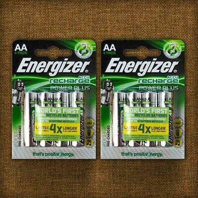 Energizer AA Batteries Rechargeable Plus Power PreCharged NiMH 2000mAh Battery