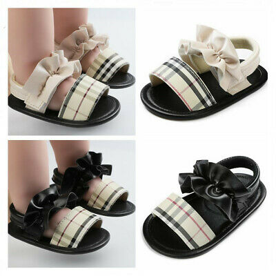 Arrived Newborn Baby Girl Crib Shoes Child Infant Inhouse Crawling Shoes Sandals