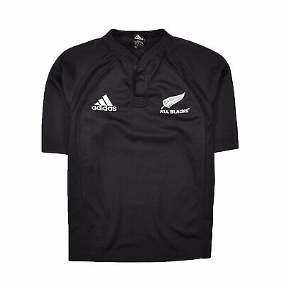 adidas Official Mens All Blacks New Zealand Rugby World Cup Polo Shirt Top