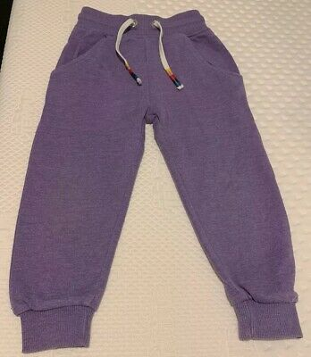 Girl's Next Purple Jogging Bottoms - Age 2-3 Years