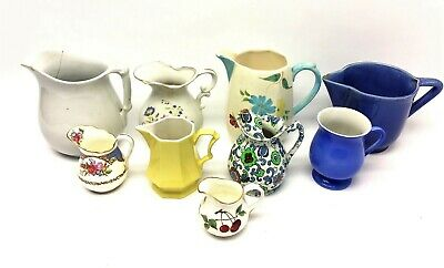 Mixed Vintage Lot Used Pottery Maddock & Co Royal Worchester Arden Cosy Pitchers
