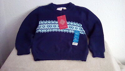 NWT Boys SONOMA Winter Sweater Skull Nordic Size Large 7 L