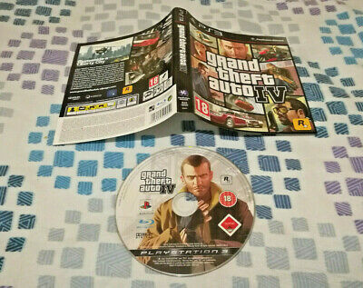 Gta Iv Grand Theft Auto 4 Playstation 3 Ps3! Juego Videojuegos