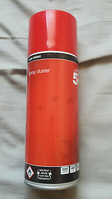 COLLECTION ONLY 5 Star Compressed Air Gas Spray Duster Cleaner Can PC 400ml