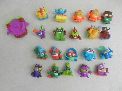 Superzings Series 3 Bundle of 20 Figures and 1 Slider New Out of Packets