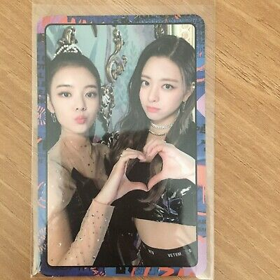 K-POP ITZY 2nd Mini Album IT'z ME Official Photocard Itzy Photo Card Wannabe