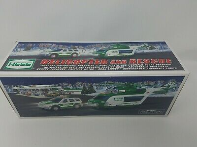 2012 HESS Helicopter And Rescue Truck Collectibles